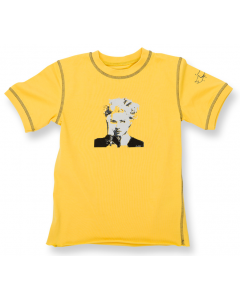 Madonna Kids T-Shirt Lemon
