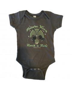 Elvis baby romper Future king