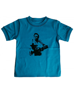 Johnny Cash kinder T-shirt Blue