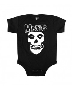 Misfits baby romper Skull