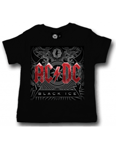 ACDC Baby T-shirt Black Ice – Metal Baby shirt AC/DC