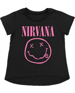 Nirvana T-Shirt Kids Smiley Pink
