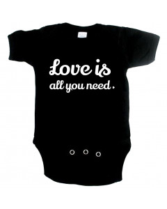 schattige baby romper love is all you need