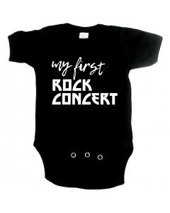 rock baby romper my first rock concert