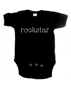 rock baby romper rockstar