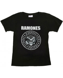 Ramones Kids T-shirt Logo White