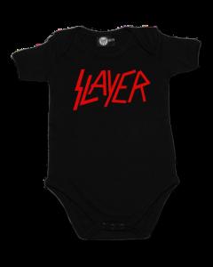 Slayer Romper Logo Metal Rompers Slayer