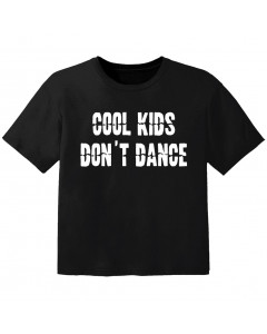 stoer baby t-shirt cool kids don't dance