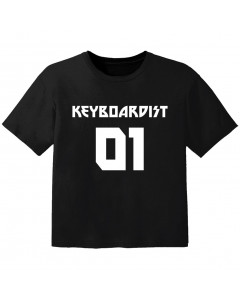 rock baby t-shirt keyboardist 01