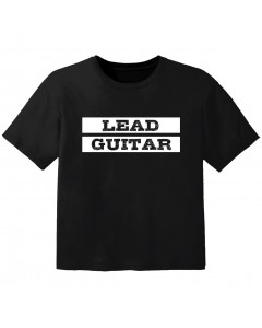 rock kinder t-shirt lead guitar
