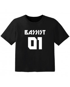 Rock baby t-shirt bassist 01