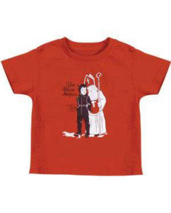 White Stripes Kids T-shirt Krampus