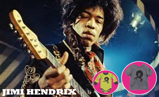 Jimi Hendrix rock baby kleding