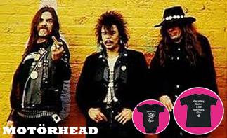 Motörhead rock baby kleding